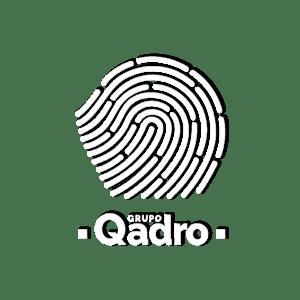 Logo blanco y negro (Grupo Qadro))